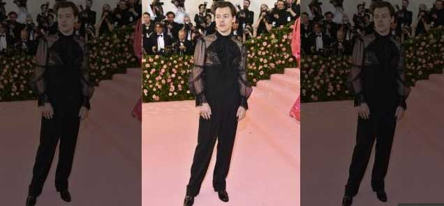 Stunt or showcase? Harry Styles blurs the lines